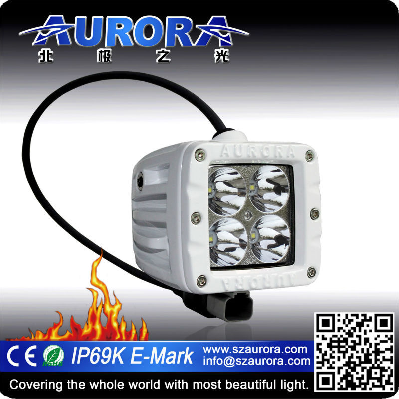 Super quality AURORA 2inch off road work light motorcycle led headlight