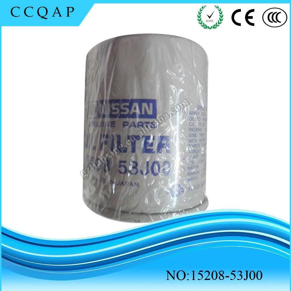 Made in China wholesale price auto spare parts car engine oil filter 15208-53J00