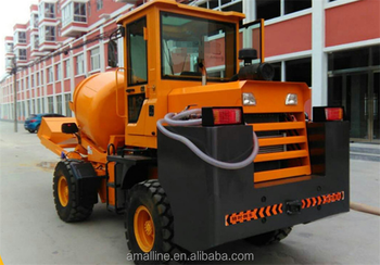 3 cubic meter Diesel Mobile Self-loading Cement Truck for Sale