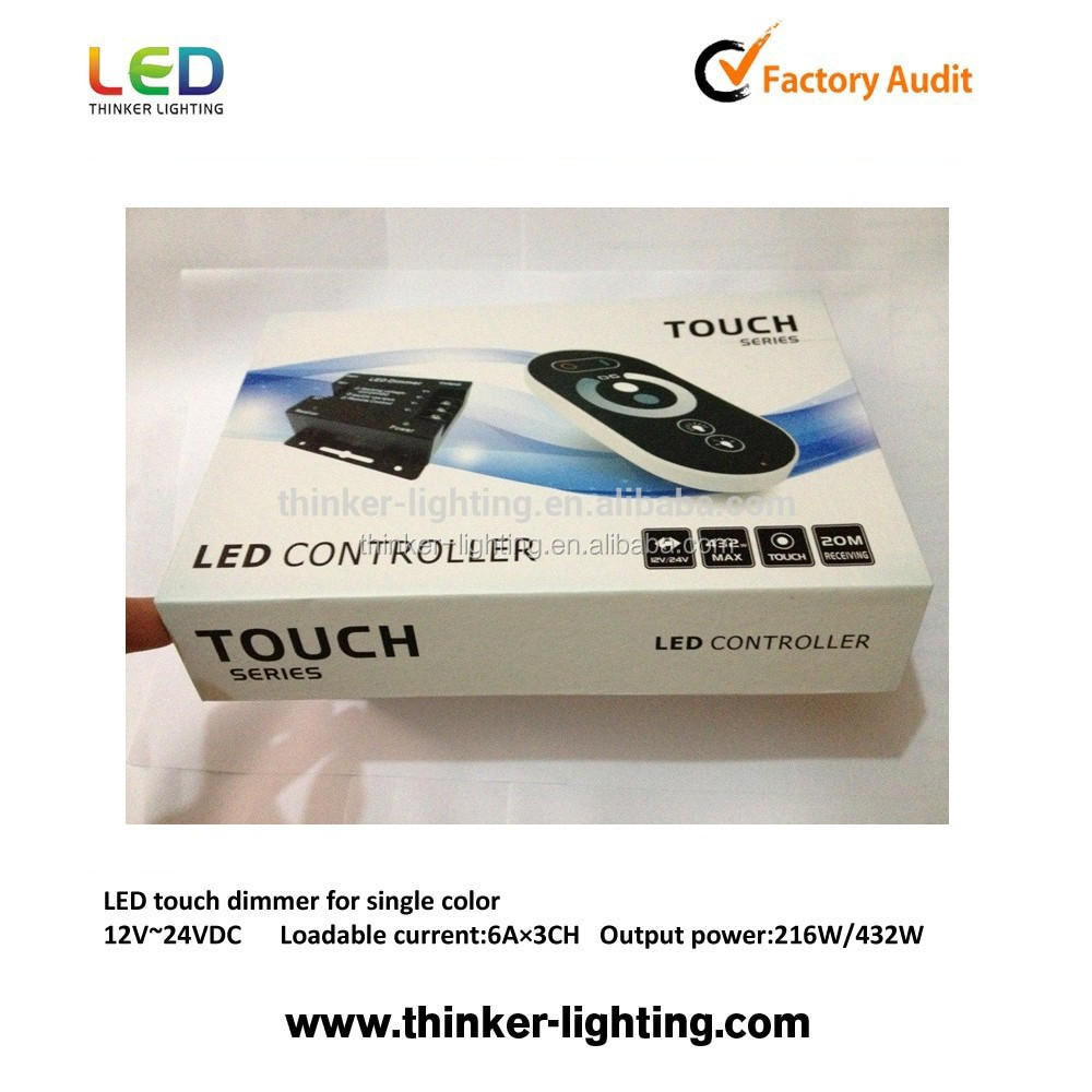 Controll the brightness wireless dimmer switch for led lights