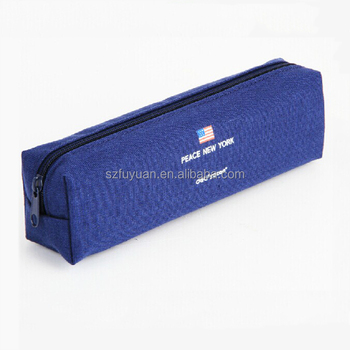 factory wholesale pencil case for men,cheap plain pencil case