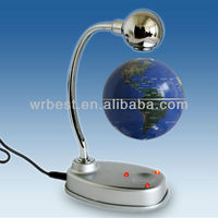 Magic Craft Gifts 2013/LED Maglev Levitation Electric Table Globe W8008