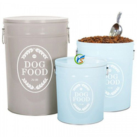 High Quality Metal Dog Food Storage Containers