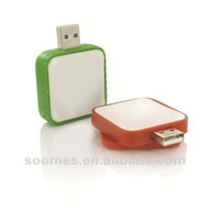 Orange Square USB flash drive SMS-FDP87