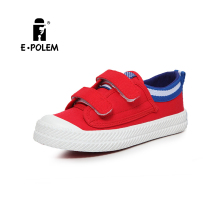 New products 2016 kid shoe wholesale buckle canvas shoe