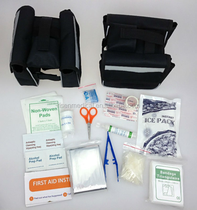 Hot sale convenient auto bicycle emergency kit auto safety kit