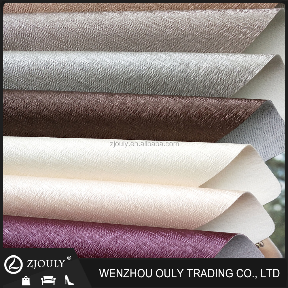 Wenzhou Hot Saling Soft PVC Leather For Furniture