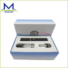 2014 ego wax & dry herb& oil vaporizer pen style kit one battery ego dome glass wax vape pen
