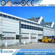China Factory Automatic Aluminum Spiral High Speed Door CE Approved