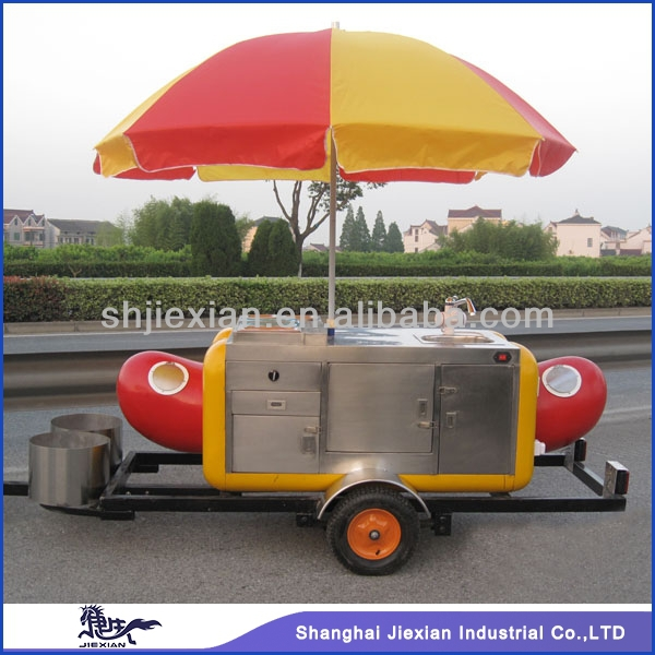 Hot Sale food vending carts/Mobile Kitchen Truck Food Van