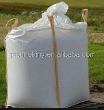Customized Plastic FIBC Bulk Ton Container Bags Big Bags with filling spout
