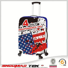 Elastic suitcase cover,printed Spandex luggage cover