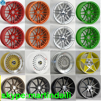 2015new designs car alloy wheels beauty car rims/15inch color car alloy wheels rim PCD5X100 mag wheels