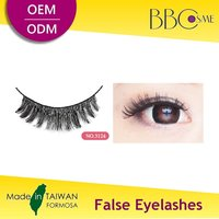 3124 Best Private Label Beauty Makeup Taiwan False Eyelashes Price