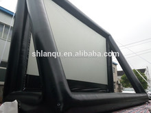 giant inflatable rear/front projection screen,outdoor movie screen