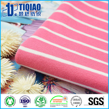 Summer Wearing Cotton/Spandex Rib Fabric