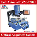 Mobile Repair Soldering Station With Hot Air Heater IR Preheating Area Optical Alignment ZM-R6821