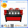 high quantity multi heads cnc router wood carving machine