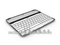 Bluetooth Aluminum Keyboard Case Cover Stand Wireless Keyboard Bluetooth for iPad 2 3 4