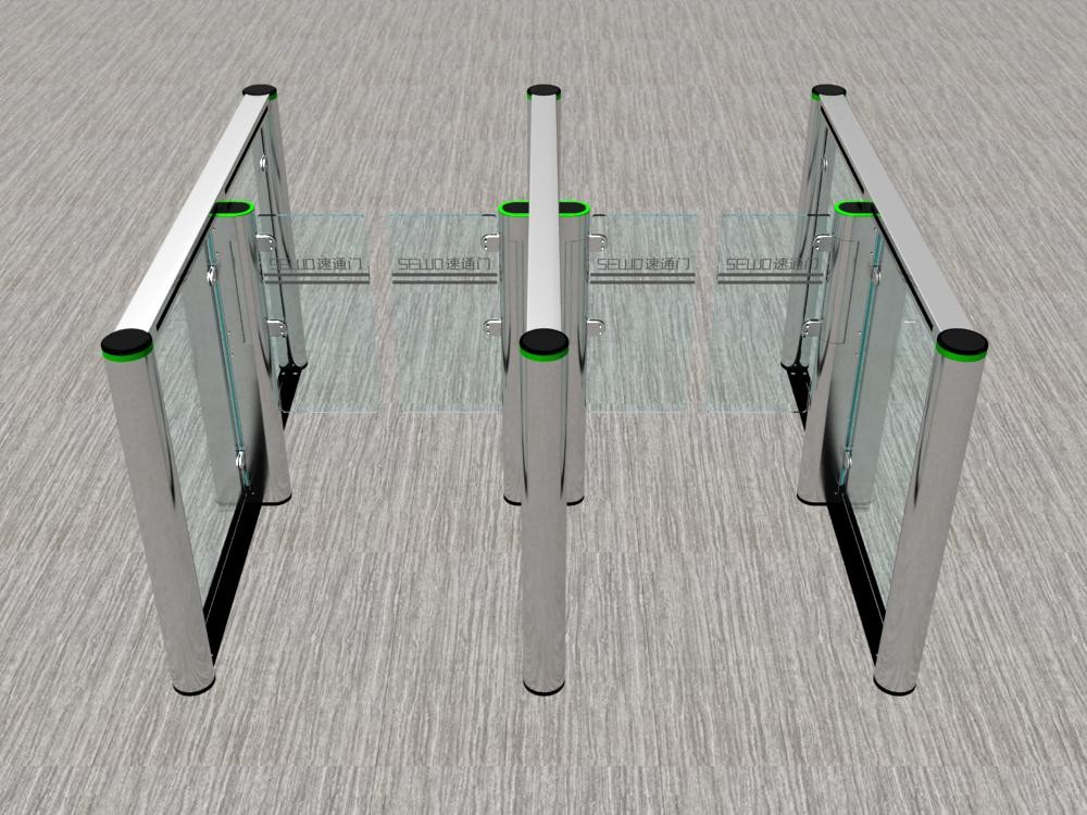 SEWO 2016 Access Control New design gate barrier For Building Entry Management