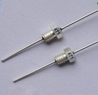 Feed through capacitors 1.1nf 1100pf ceramic solder in place feed through capacitor