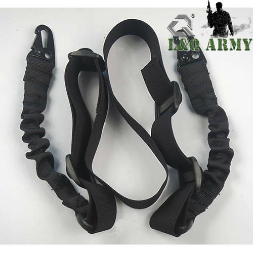 New Deluxe Tactical 2 Point Rifle Sling Black