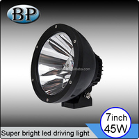 led headlight 7inch round led spot light 45w for truck 4x4 offroad led work lamp used harley davidson motorcycles
