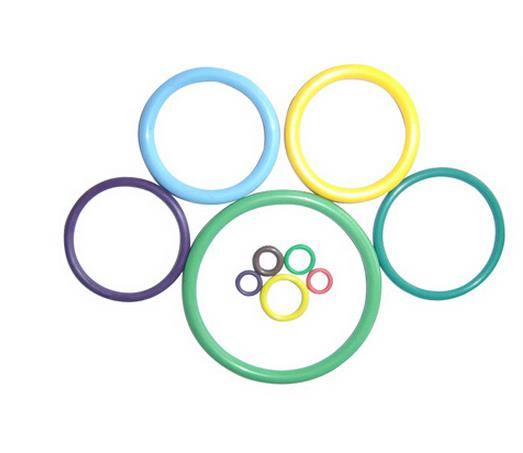 Colorful NBR Rubber O Ring Silicone Seals Rubber Oring