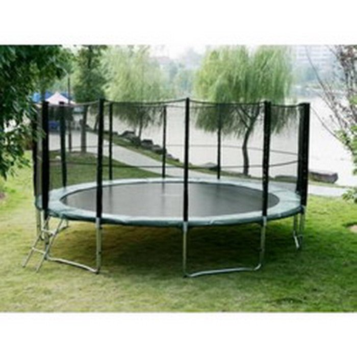 outdoor Trampolines with safety net