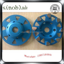 China Supplier Granite Porcelain Marble Diamond Grinding Cup Wheel For Sale