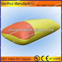 Durable 0.9mm PVC,inflatable water park,kids and adults pedal boat