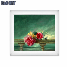 Modern famous oil paintings flowers rose flowers oil paintings on canvas