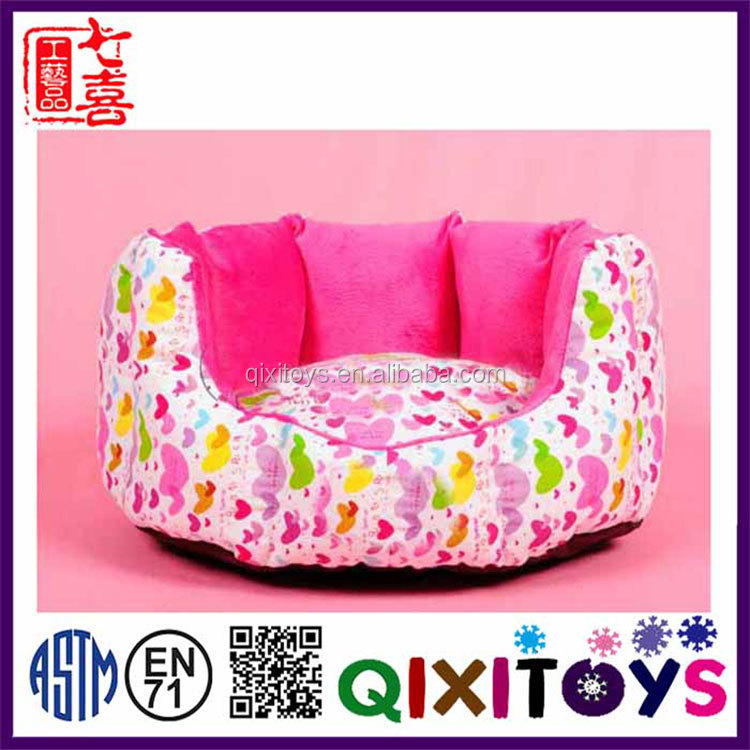 Special design cute plush pet kennel toy for dog custom made 45*40*18cm dog house wholesale