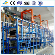 automatic clamping-barrel color washing passivation plating mechanical equipment equip wash