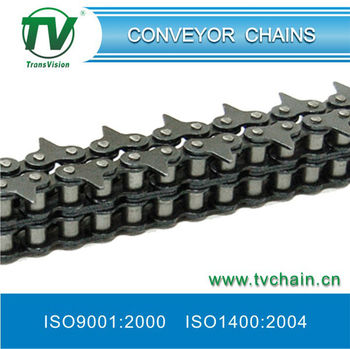 Sharp top roller chains