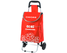 rolling folding elderly shopping cart Foldable Cart trolleys