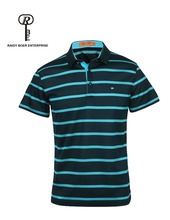 men striped polo shirt with hight quality polo t-shirt