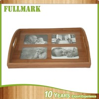 Animal wood carving home etc wooden photo frame