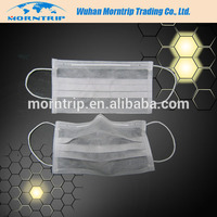 Breathable health care medical disposable 4ply active carbon face mask in wuhan