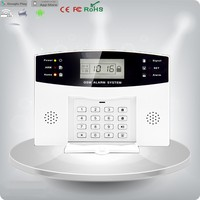 intelligent wireless GSM home alarm with Voice Activated Calling Back Function
