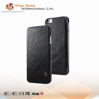 Manufacturer pu leather flip card slot case for iphone 6 plus 64 gb mobile