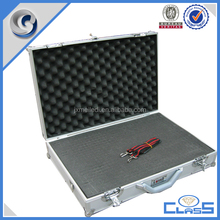 china manufacturing aluminum hard case box storage with combination lock