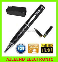 Professional video recorder covert mini DV DVR camcorder Full HD Spy Pen camera 1080P Pen Hidden pinhole camera