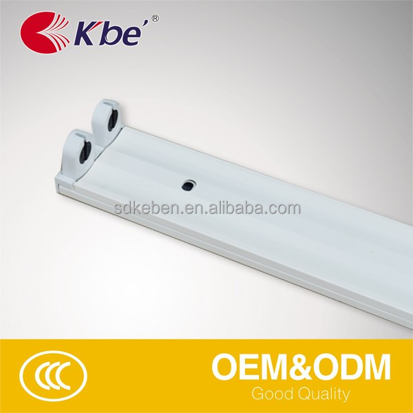 FOSHAN kbe t8 batten fluorescent light t8 fluorescent 2*4ft for LED TUBE