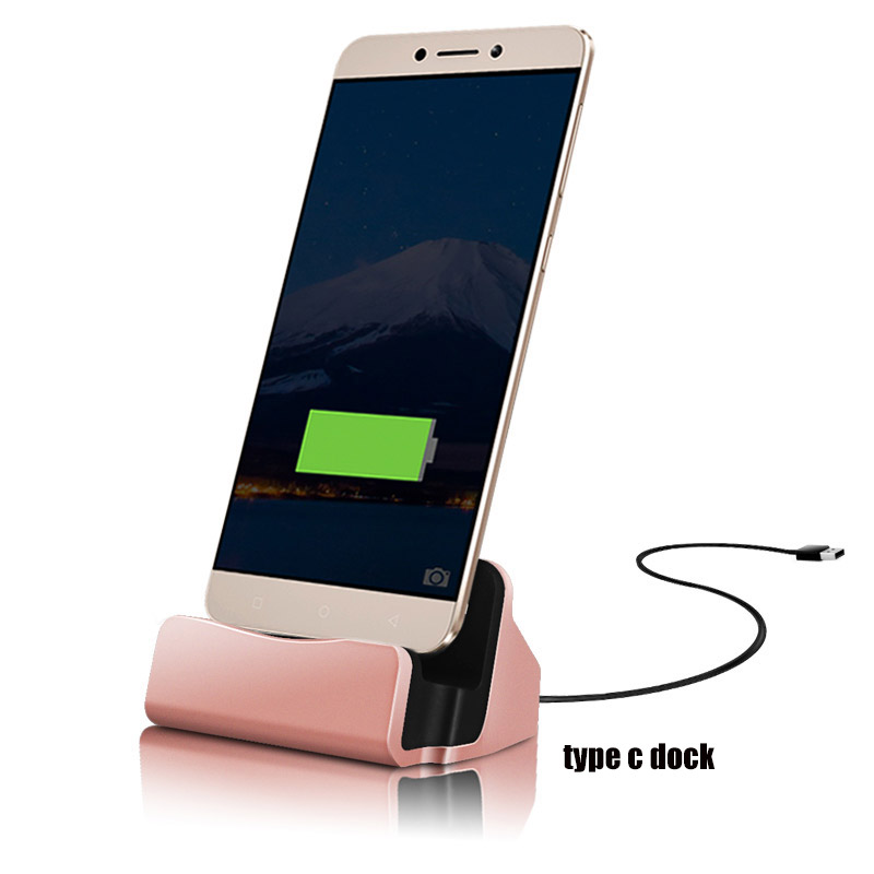 USB 3.1 Type-C Dock USB Charger Station Holder Type C Charging Cradle For Nokia N1/Oneplus Two 2/iaomi Mi4c/Zuk Z1/Meizu Pro 5