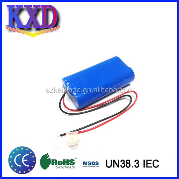 3.2 Volt LiFePO4 Battery Pack with Leads (3000 mAh)