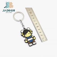 wholesale cute cartoon soft pvc key chain