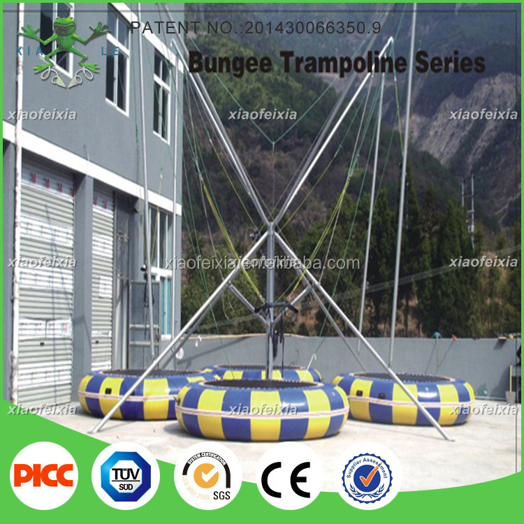 Euro Jumping Bungee Inflatable Trampolines From China