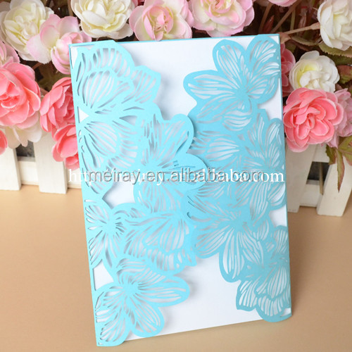 Fashion wedding invitations philippines with factory price