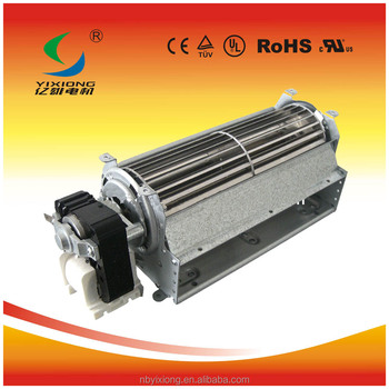 Oven Convection Cross Flow Fan